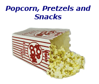 Fake Popcorn & Snacks