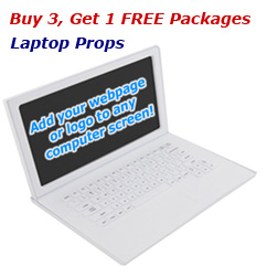 Buy 3 Get 1 FREE Laptop Props