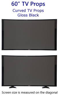 60 Inch Curved Prop TVs