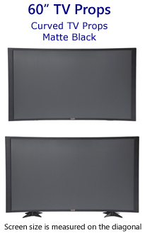 60 Inch Curved TV Props