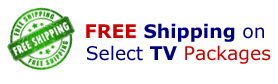 Free Shipping on Select TV Props and Packages. Free Shipping on PropTVs in Double Packs