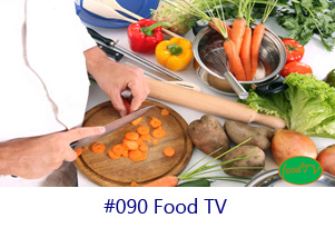 Food TV Screen Image