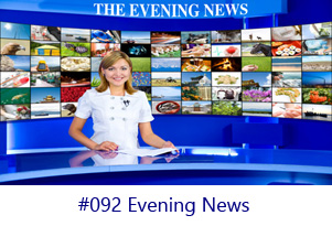 Evening News Screen Image