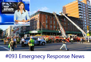 Emergency Response News Screen Image