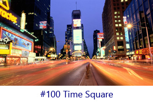 Time Square Screen Image