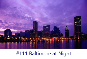 Baltimore at Night Screen Image