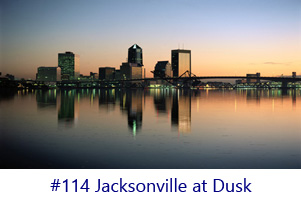 Jacksonville at Dusk Screen Image