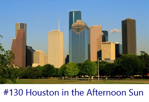 Houston in the Afternoon Sun Screen Image