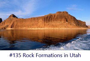 Rock Formations in Utah Screen Image