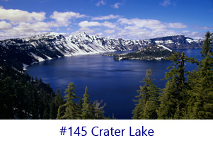Crater Lake Screen Image