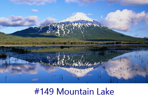 Mountain Lake Screen Image