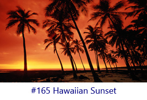 Hawaiian Sunset Screen Image