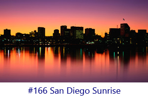 San Diego Sunrise Screen Image