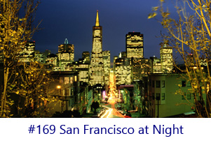 San Francisco at Night Screen Image