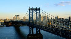"47"" TV Screen Image #101 Manhattan Bridge (Screen Print Only. 47 Inch TV Prop Not Included)"