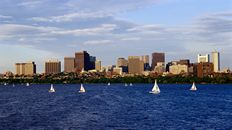 "47"" TV Screen Image #107 Massachusetts Bay in Boston (Screen Print Only. 47 Inch TV Prop Not Included)"