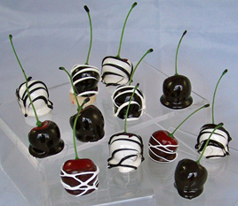 Cherries Dipped in Chocolate (Set of 12)