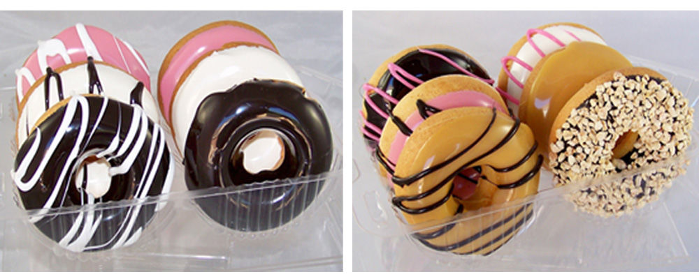 Fake Donut Double Pack - 12 Pack of Artificial Donuts