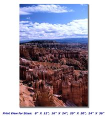 Bryce Canyon National Park on Canvas