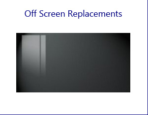 Replacement Off-Position Screens