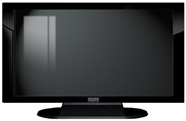 "32"" TV Prop Plasma-LED Flat Screen TV in Gloss Black on Matte Black-XX Style Series"