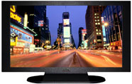 "27"" TV Prop Plasma-LED Flat Screen TV in Matte Black-XX Style Series with Time Square Screen"