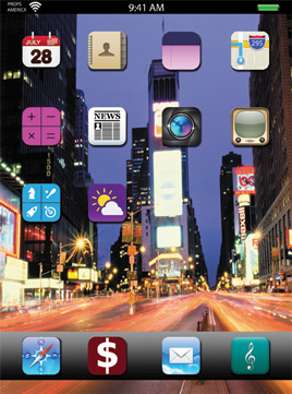 WALLPAPER-TIME SQUARE