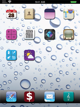 WALLPAPER-WATER DROPLETS