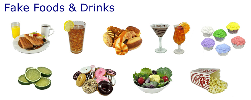 Props America offers a large variety artificial fake foods and fake drinks. Buy Our fake food props for home staging and decorating.